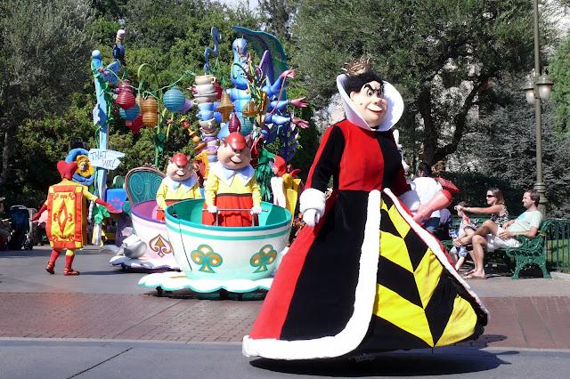 Rainha de Copas, Disneylândia (Jesse, 2007)