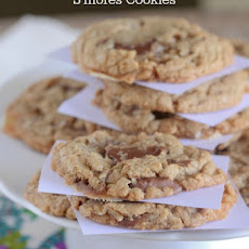 Brown Butter Chocolate Chunk S'mores Cookie