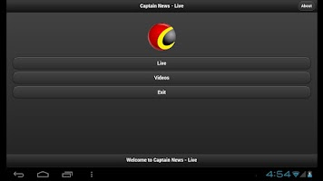Screenshot of Captain News