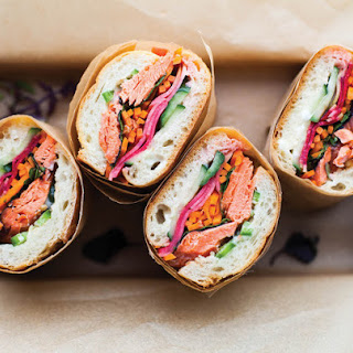 Salmon Banh Mi From 'Vibrant Food'