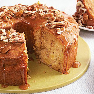 Salted Caramel Apple Cake