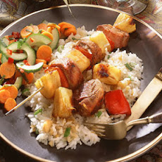 Pork-and-Pineapple Kebabs