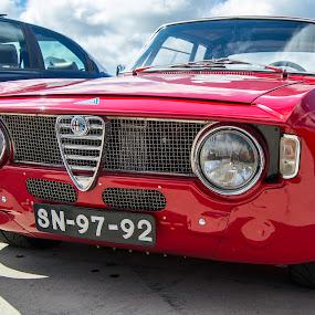Passionato Junior by José Borges - Transportation Automobiles ( red, alfa romeo, racing car, gt junior,  )