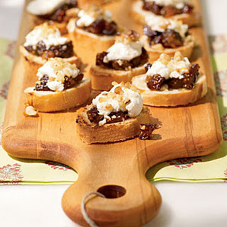 Fig and Goat Cheese Bruschetta