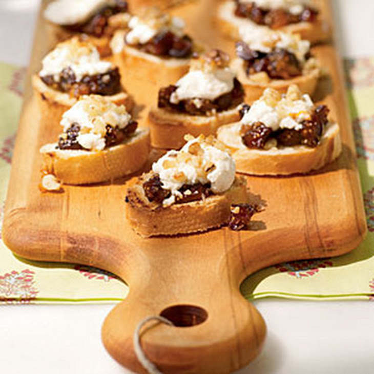 Sauteed Radicchio And Goat Cheese Bruschetta Recipes — Dishmaps