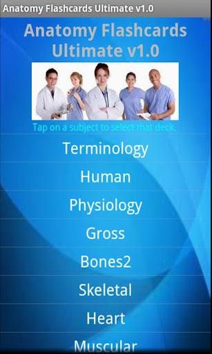 Anatomy Flashcards Ultimate