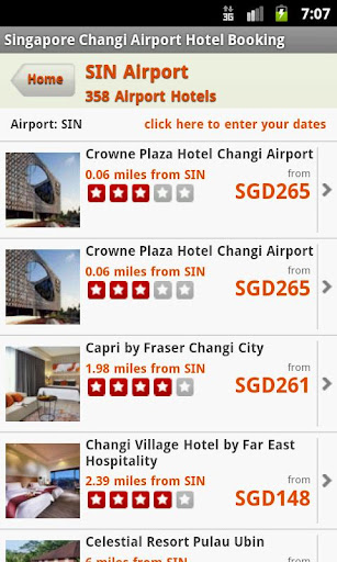 Hotels Near Singapore Airport