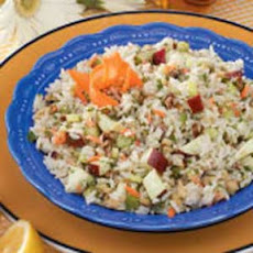 Walnut Rice Salad
