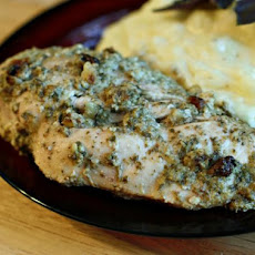 Pesto Crusted Chicken