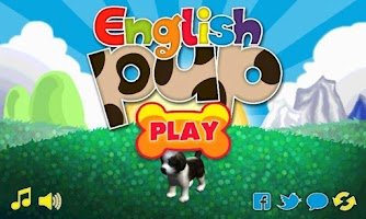 Screenshot of English Pup Kids Learning Game