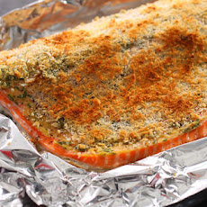 Basic Baked Breaded Salmon