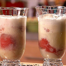 Limoncello Raspberry Float