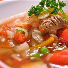 Easy Venison and Vegetable Soup