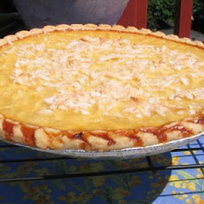 Pina Colada Custard Pie- Virgin, No Alcohol