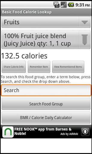 免費下載健康APP|Basic Food Calorie Lookup app開箱文|APP開箱王