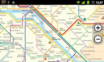Screenshot of Paris Subway