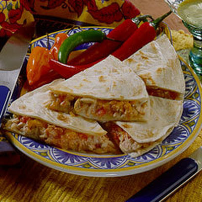 Tuna Quesadillas