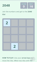 Screenshot of 2048 (Ad free, no ads)