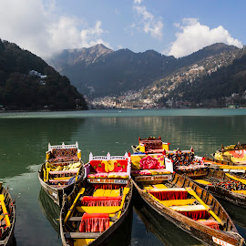 Nainital lake by Dilip Gupta - Landscapes Mountains & Hills