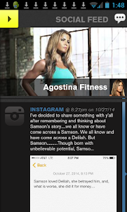 Agostina Fitness - screenshot
