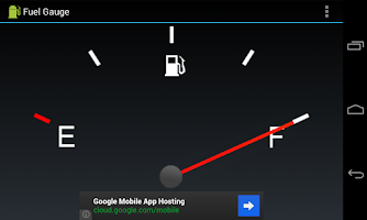 Screenshot of Fuel Gauge