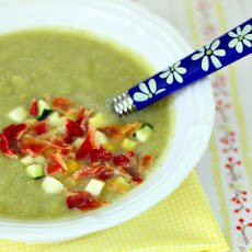 Zucchini, Corn and Bacon Chowder