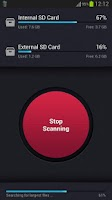 Screenshot of SD Card Cleaner