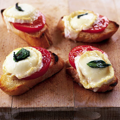 Summery Cheese On Toast