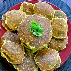 Fresh Corn and Green Onion Johnny Cakes