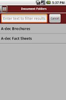 Screenshot of dspConnect