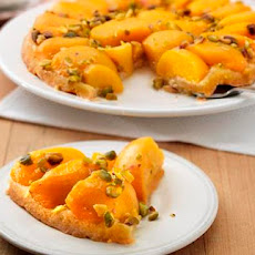 Upside-Down Peach Tart