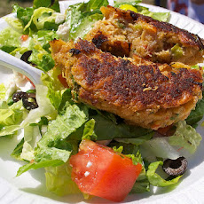 Sam's Coconut Crab Cakes with Coconut Basil Mayonnaise