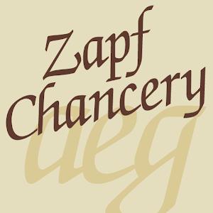 Cover art Zapf Chancery FlipFont