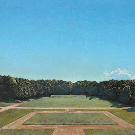 Obraz: Pejzaż z chmurą 2 - Franciszek Ledóchowski