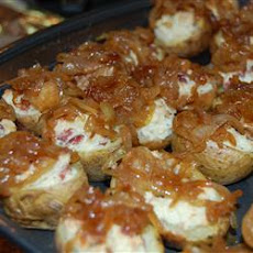 Gorgonzola Stuffed Mini Potatoes