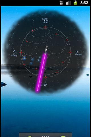 JediClock - Purple