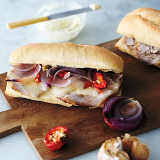 Roast Pork Sandwiches with Garlic Mayo