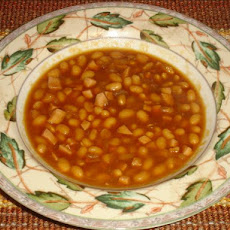 Baked Beans for Saturday's Supper