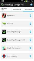 Screenshot of Default App Manager Pro