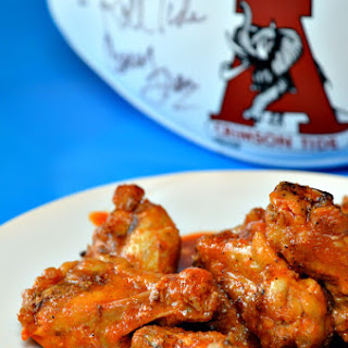 Baked Buffalo Hot Wings