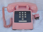 Desk Phones - Western Electric 1500 Pink