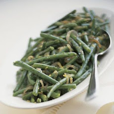 Green Beans with Glazed Shallots and Lemon