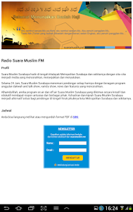 Radio Suara Muslim FM - screenshot