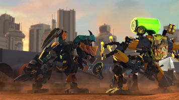 Screenshot of LEGO® Hero Factory Invasion IT