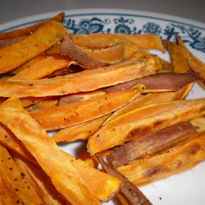 Unfried Sweet Potato Fries