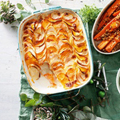 Recipes - Creamy potato bake