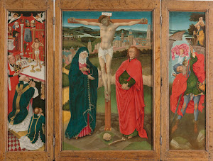 RIJKS: anoniem: Triptych with the Crucifixion 1460