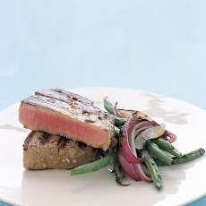 Grilled Tuna Steaks with Japanese Marinade