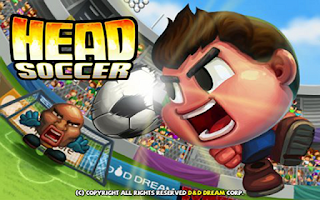 Screenshot of Head Soccer