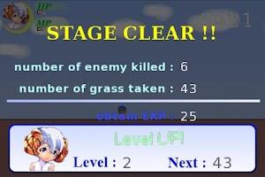 Screenshot of Run! Run! Sheep Girl Lite